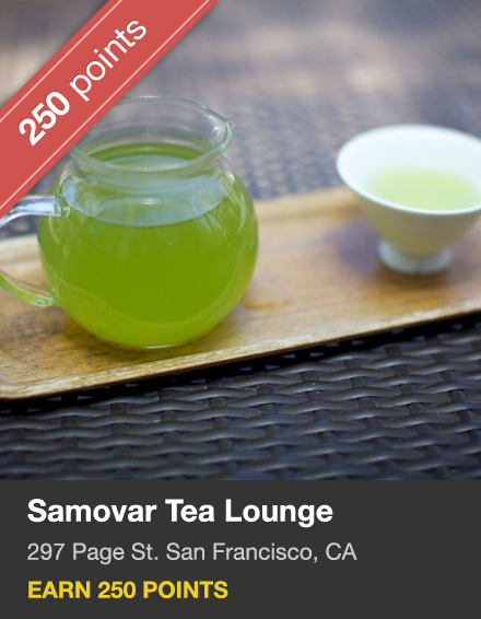 Samovar Tea Lounge. Zen Valley.