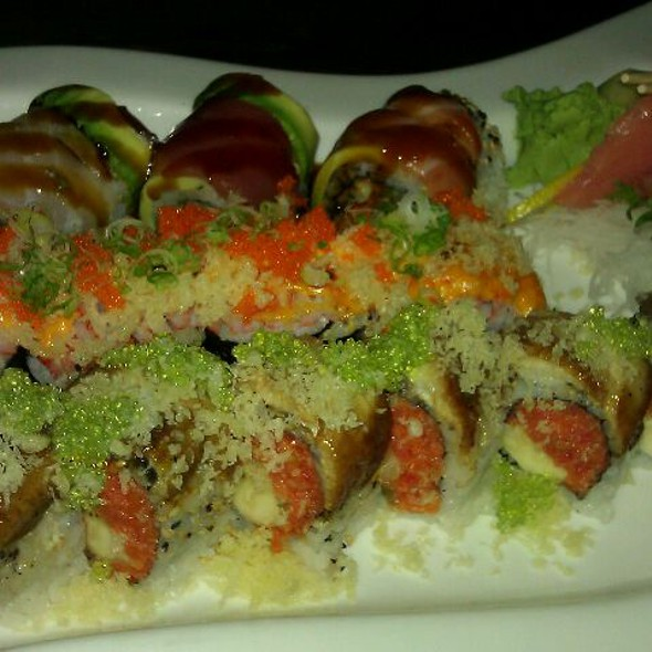 50 Columbus Roll & Others - Teppan Bar & Grill, Jersey City, NJ