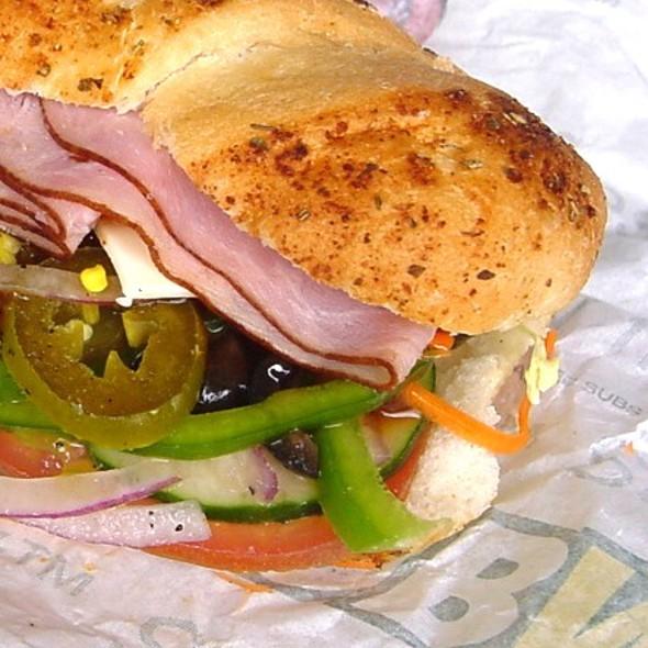 Beef, Turkey & Ham Club Sandwich  @ SUBWAY