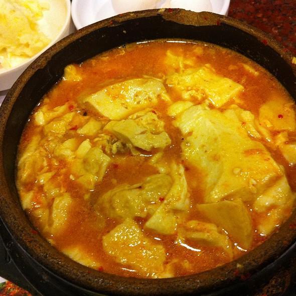 Pork Tofu Soup @ B C D Tofu House Wilshire