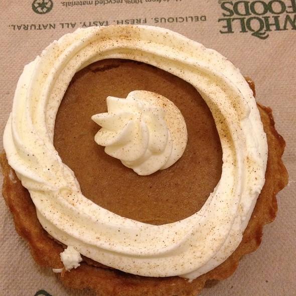 Pumpkin Tart @ Whole Foods Market - Kahala