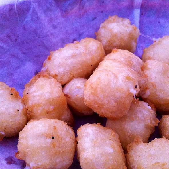 Cheese Curds @ Black Sheep Lodge