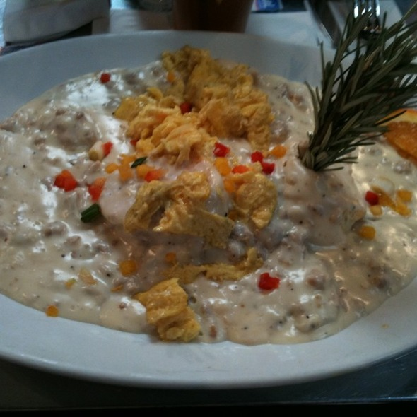 Sausage biscuits & Gravy @ Hash House A Go Go