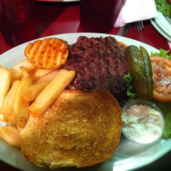 Hamburger With Tzatziki @ Big Nick's Burger Joint