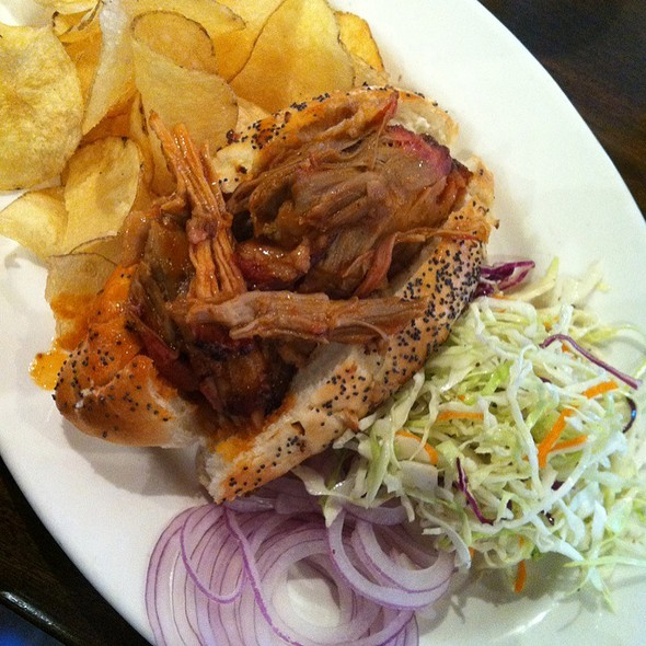 Roasted BBQ Pork Sandwich - Mustards Grill, Yountville, CA