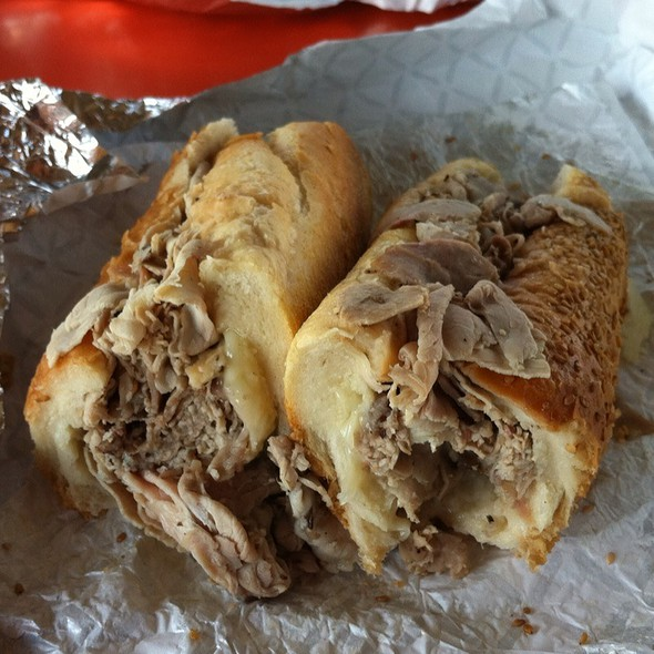 Roast Pork Sandwich @ John's Roast Pork