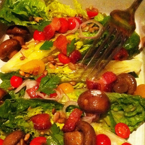 Salad Of Little Gem Lettuces @ Ad Hoc