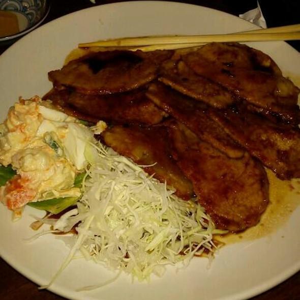 Shouga Yaki @ Temari Cafe