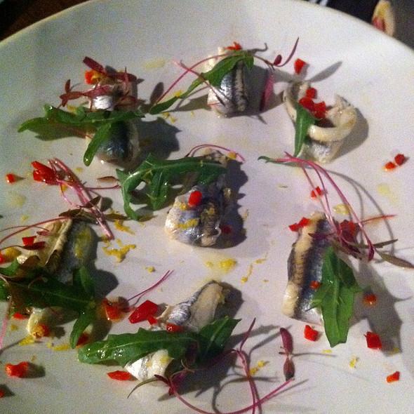 Marinated Sardines @ Jamie's Italian
