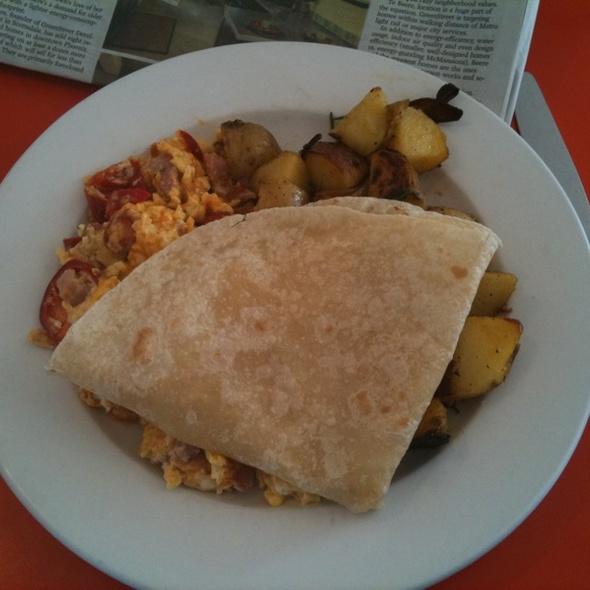 Scrambled Eggs @ Matt's Big Breakfast