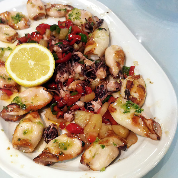 Grilled Baby Squids @ O'boi