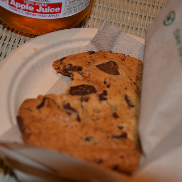 Chocolate Chip Cookies @ vizcaya museum and gardens