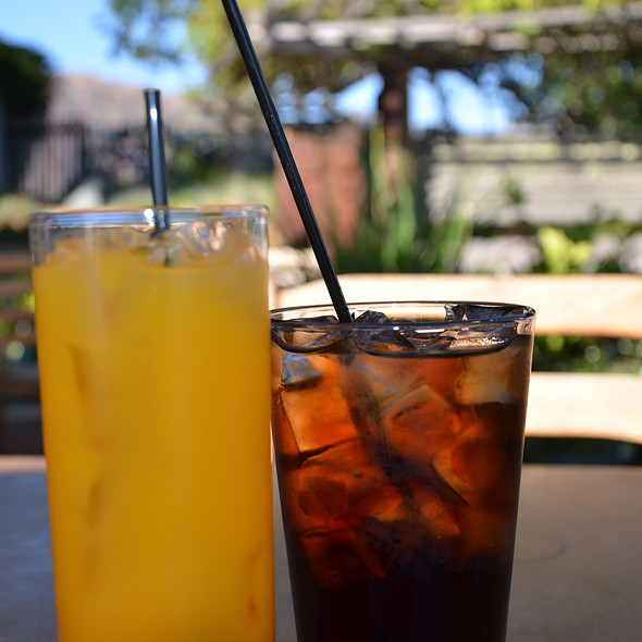 fancy drinks @ Sierra Mar