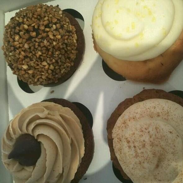PB Blossom, Gianduja (hazelnut Nutella), Carrot Cake, You Tart (lemon Cake W/ Lemon Cream Cheese) @ Hello Cupcake