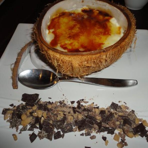 Japengo Coconut Creme Brulee @ Japengo - Hyatt Regency Waikiki