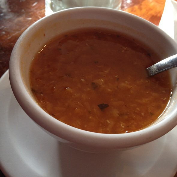 Lentil Soup @ Turkuaz Cafe