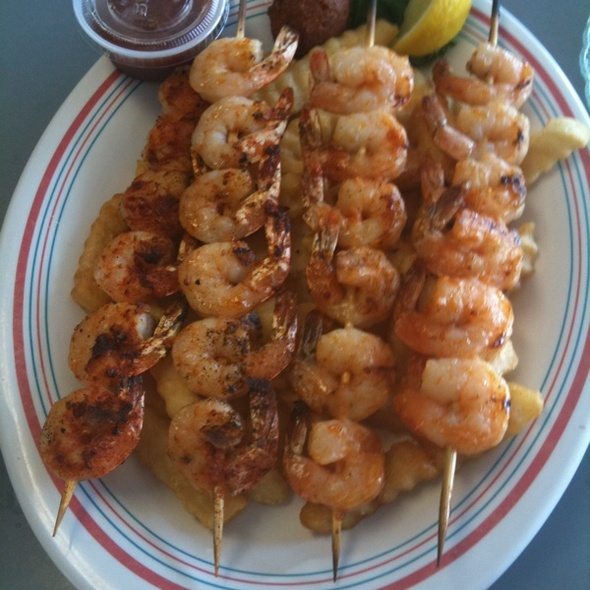 Grilled Seafood Combo Platter