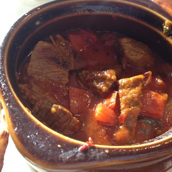 Beef Kebab @ Turkuaz Cafe