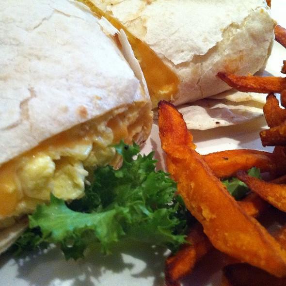 Breakfast Wrap @ B.K. Sweeney's Uptown Grille