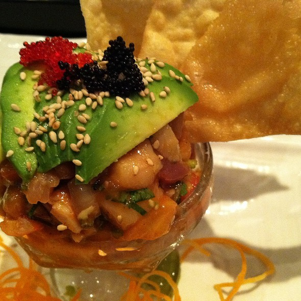 Red Snapper Ceviche @ Sushi Hana Japanese Kitchen