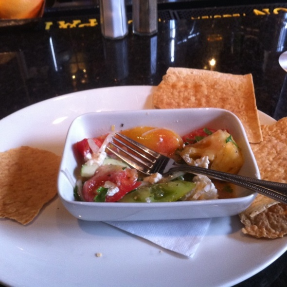 Heirloom Tomato Salad @ Easy Bistro & Bar