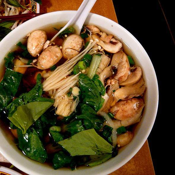 Vegetarian Pho @ Pho Cafe