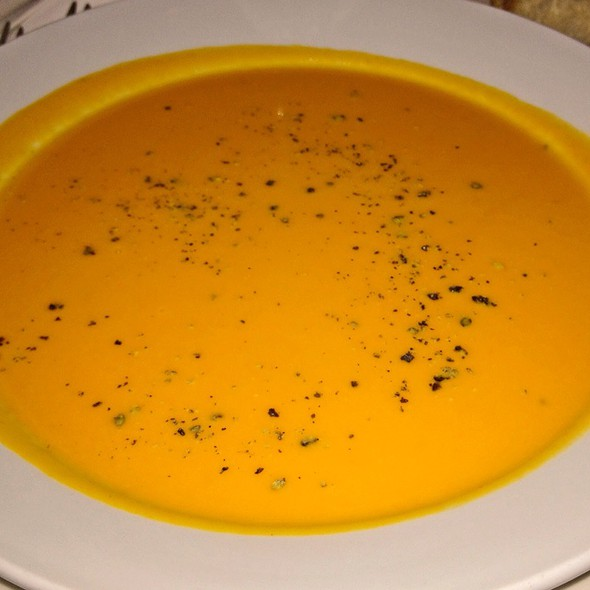 Carrot Rosemary Soup - Cafe Bizou - Pasadena, Pasadena, CA