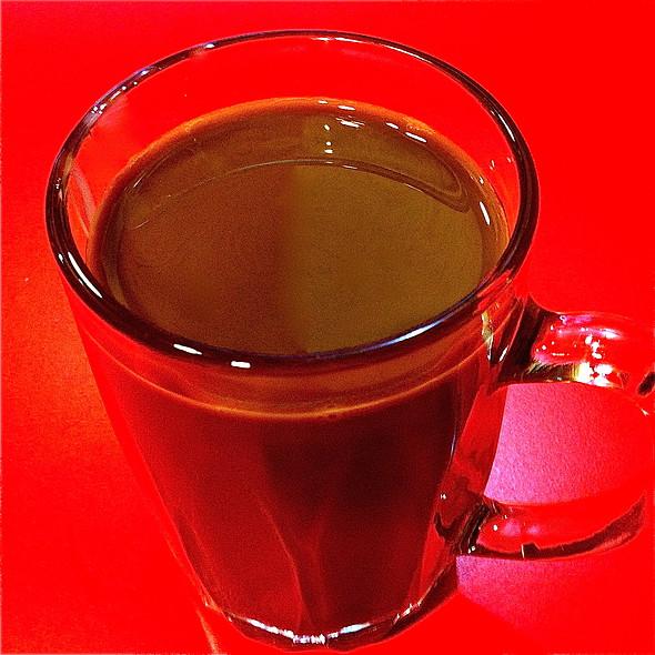 Coffee With Condensed Milk @ Gamap - Original Oriental Burgers