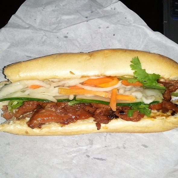 BBQ Pork Banh Mi Sandwich @ Truong Son Asian Center
