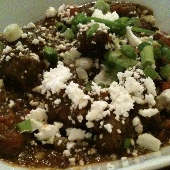 Spicy Lamb Stew @ Nuba Cafe