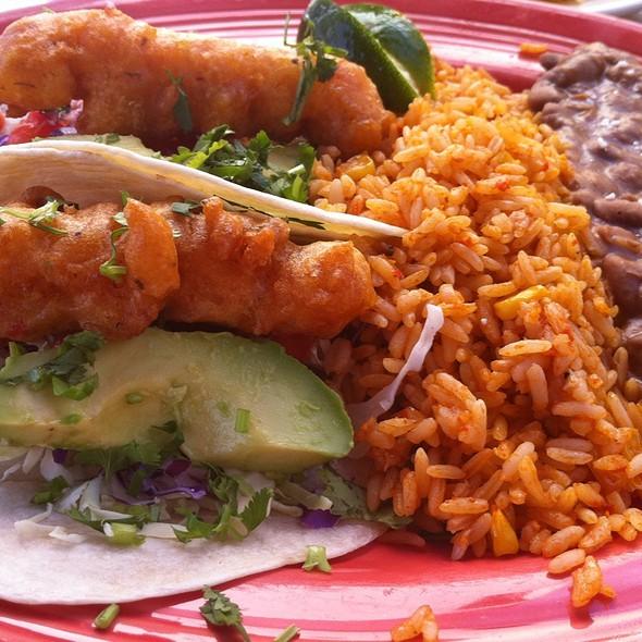 Fried Lobster Tacos - Rockin Baja Lobster Oceanside, Oceanside, CA