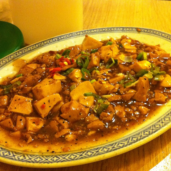 Tau-Fu with Chinese Fried