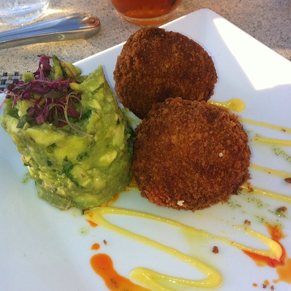 Crab Cakes With Avocado Salad - Bistro 245, Key West, FL