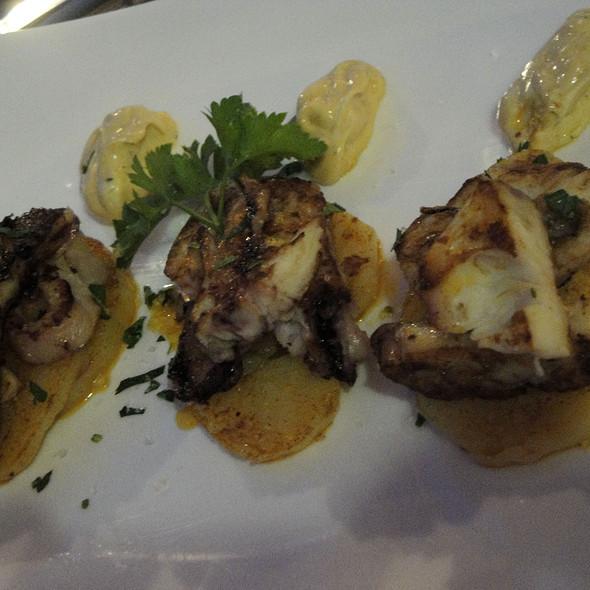 Octopus head @ Restaurante Tambo