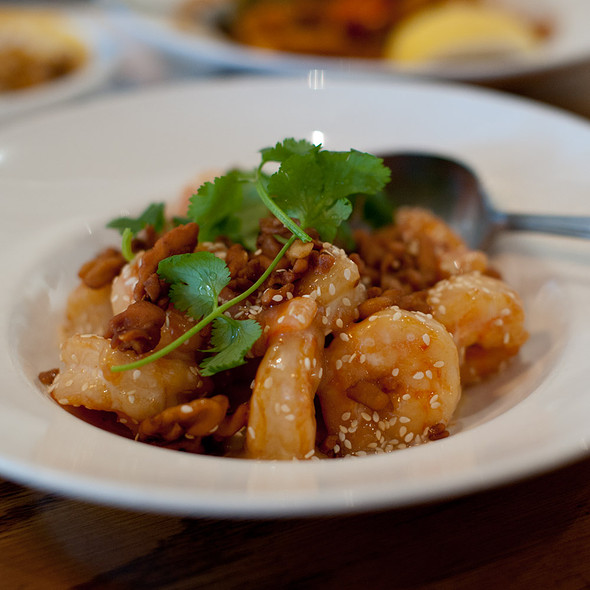 Walnut Shrimp @ Burma Superstar Oakland Inc