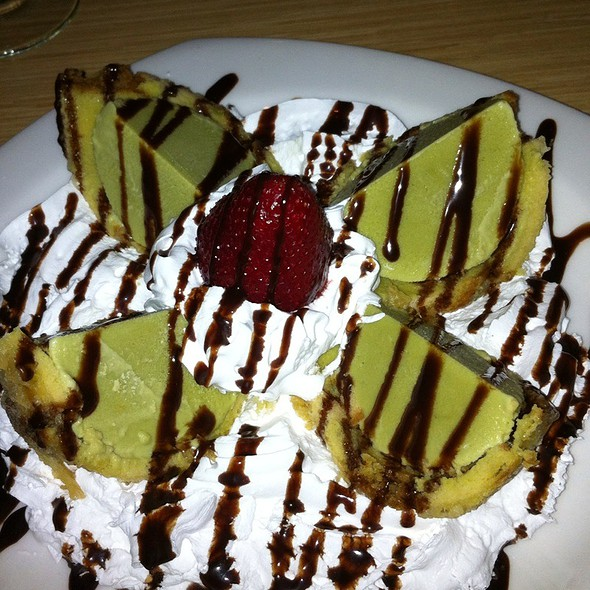 Fried Green Tea Ice Cream @ Drunken Fish