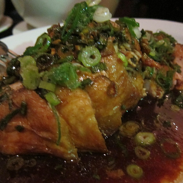 Crispy Skin chicken with organic brown rice vinegar dressing @ Billy Kwong