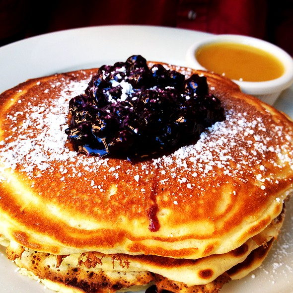 Blueberry Pancakes @ Clinton Street Baking Co