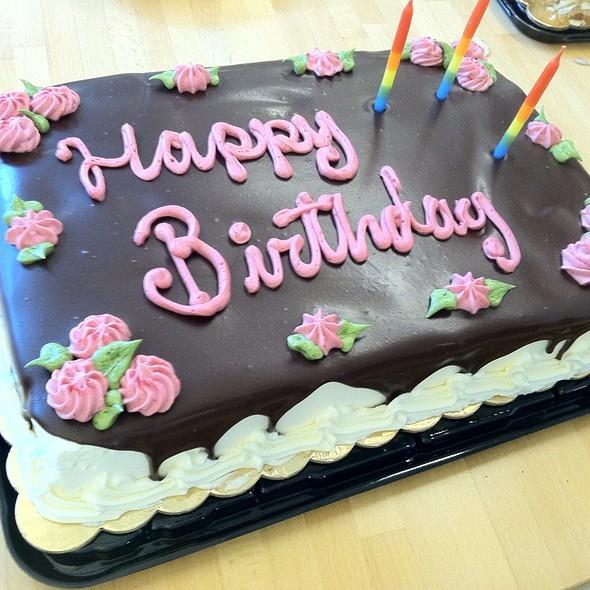Whole Foods Market - Birthday cake - Foodspotting
