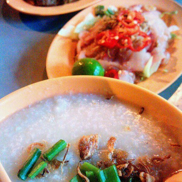 Sliced Fish Porridge @ Tiong Shian Porridge Centre