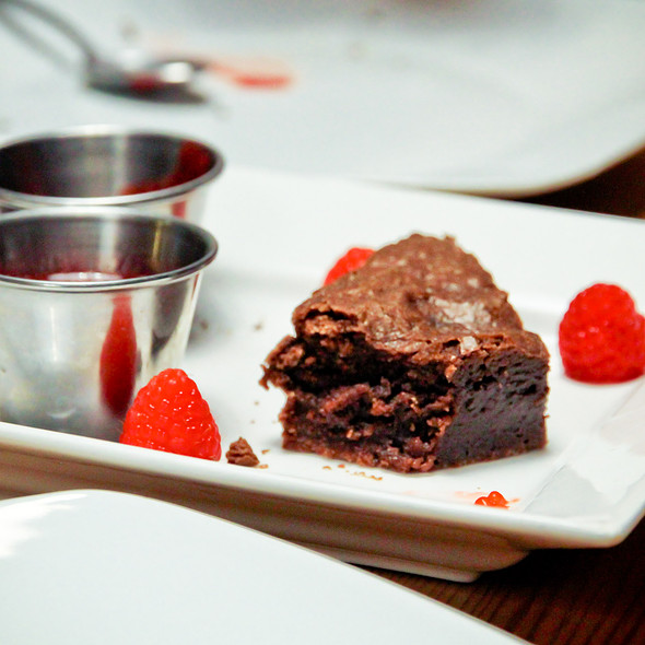 Chocolate Brownie @ Barque Smokehouse