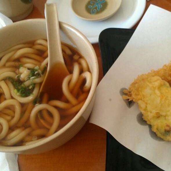 Shrimp Tempura Udon @ Tazaki Sushi