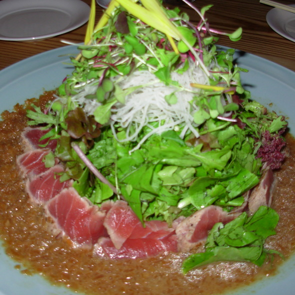 Seared Ahi Tuna Salad @ Nobu Waikiki