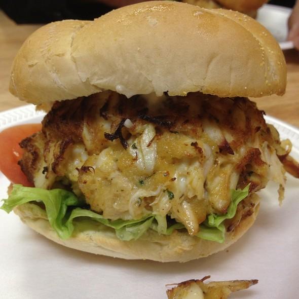 "Crab Cake ""Sandwich"" @ Casa Mia's White Marsh"