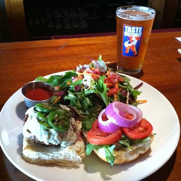 1/2 Lb Burger With Side Salad @ Circa