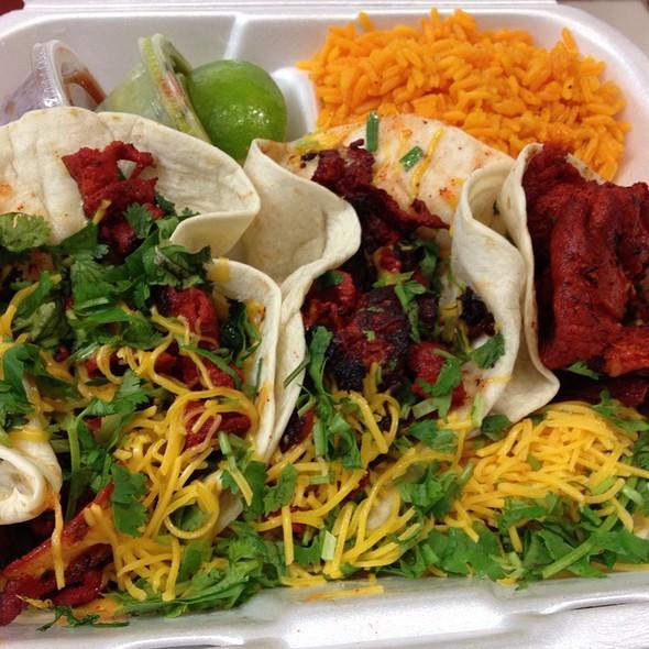 Tacos al Pastor @ Sandy's Cafe