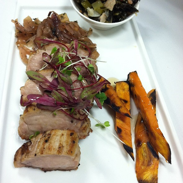 Pan-Seared Pork Tenderloin - La Gran Terraza - University of San Diego, San Diego, CA