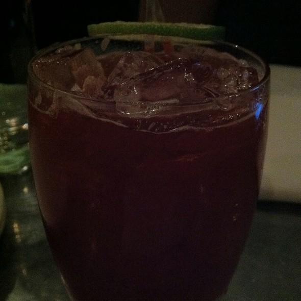 Blackberry, Lime, And Ginger Cocktail @ Range Restaurant
