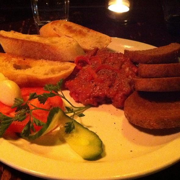 steak tartare - Accent European Lounge, Edmonton, AB