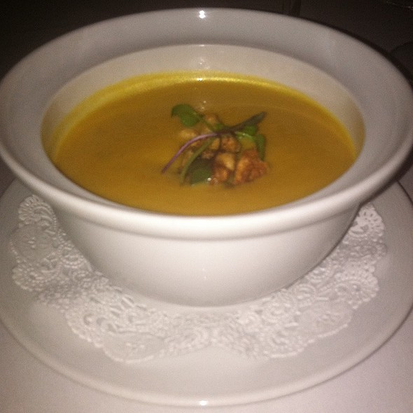 Sweet Potato Bisque - The Spiced Pear, Newport, RI